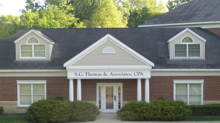 S.C. Thomas Certified Public Accountant headquarters in Medina, Ohio